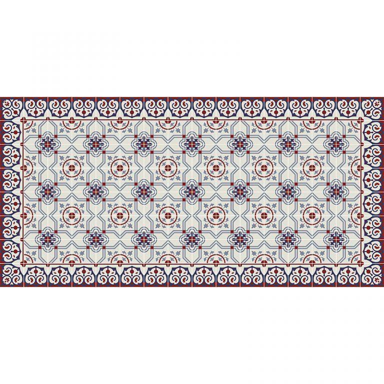 Alfombra Vinílica Carmen - 97x48 cm