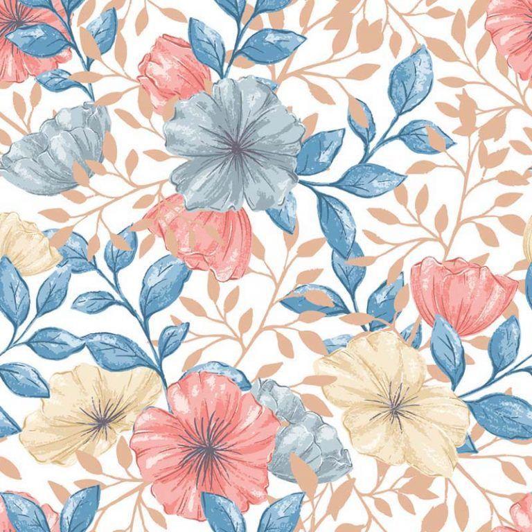 Azulejos Adhesivos Flowers