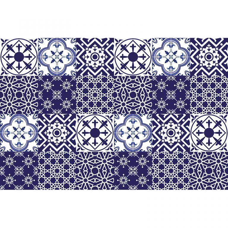 vinilos adhesivos Azul y Blanco