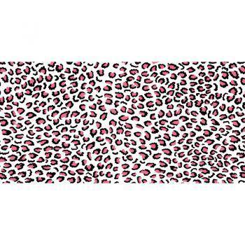 ALfombra Vinílica Pink Leopard 97x48