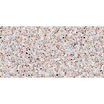 ALfombra Vinílica Mosaic Multicolor 97x48