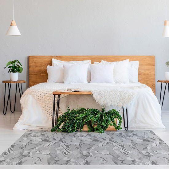 ALfombra Vinílica Grey Pattern habitación