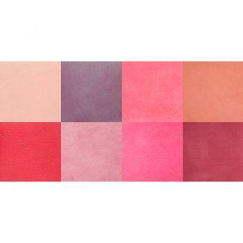 ALfombra Vinílica Pink Squares 97x48