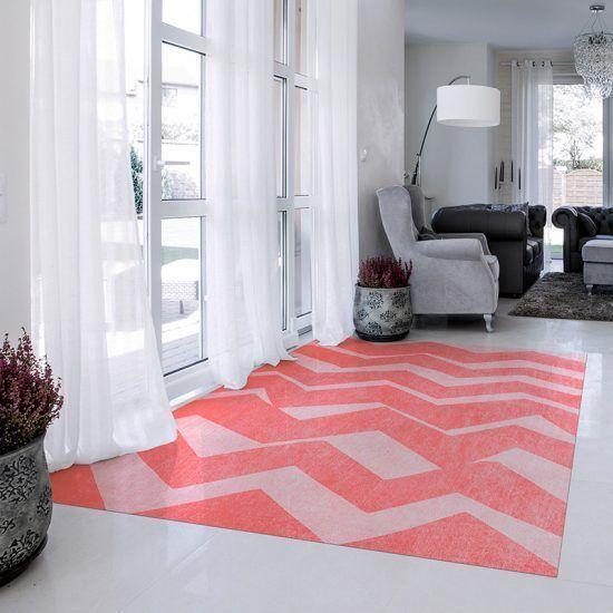 ALfombra Vinílica Zig Zag salón