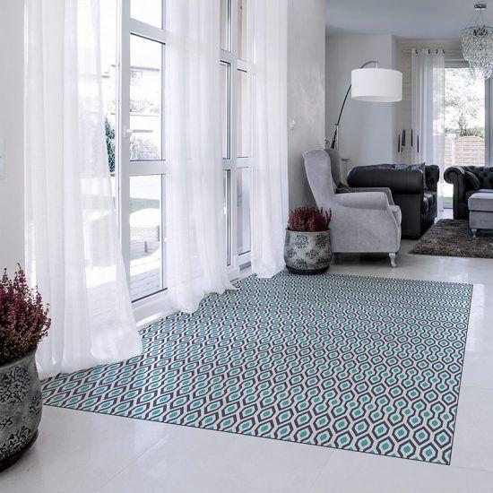 ALfombra Vinílica Weldon entrada