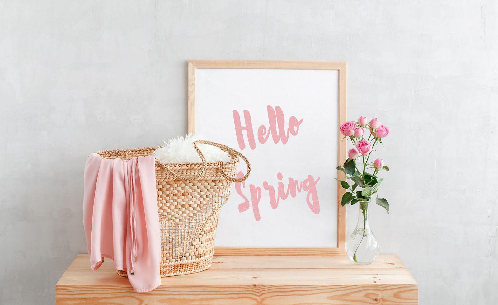 decoration printemps