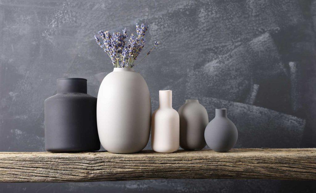 décoration printemps vases
