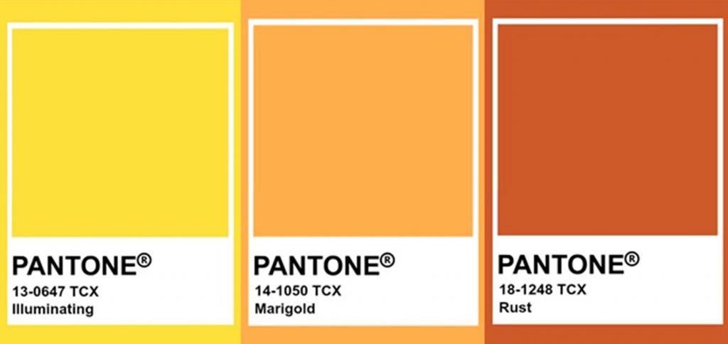Tendances en couleur Pantone