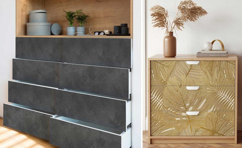 vinyle décoratif pour meubles